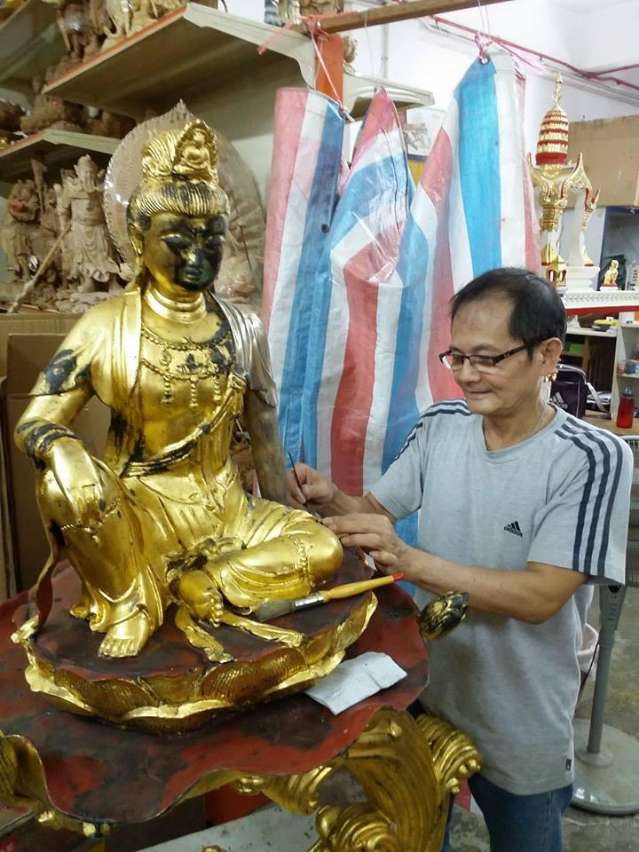 Stone Statue Repair Singapore