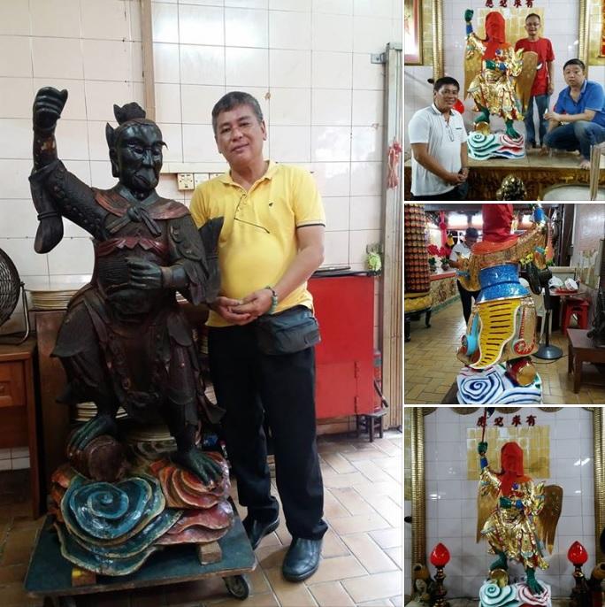 Wood Statue Repair Singapore