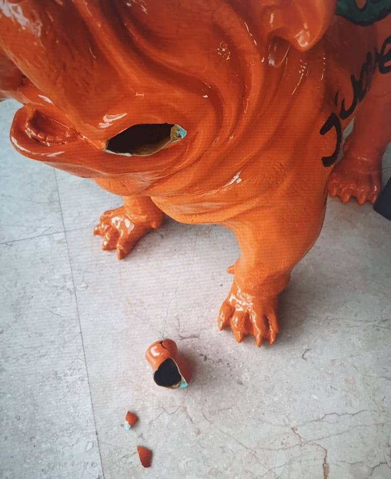 Ceramic Statue Repair